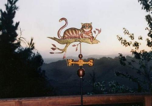 West Coast Weathervanes - Cheshire cat