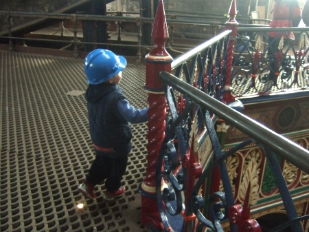At Crossness Pumping Station