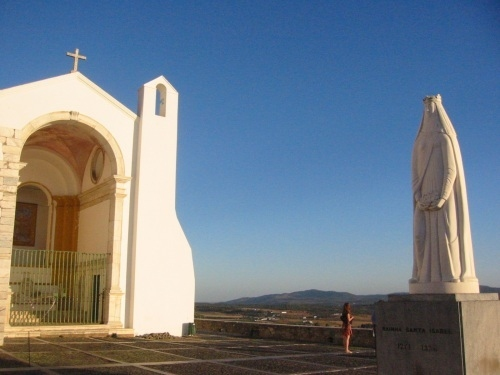 A hilltop church in the Alentejo