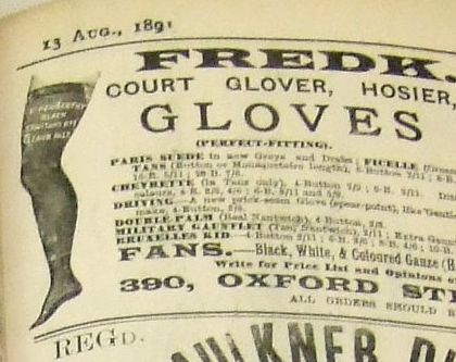 Gloves and Fans?