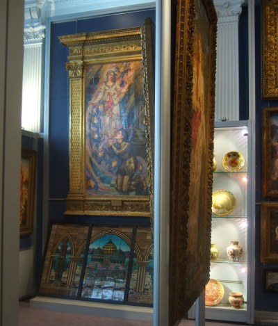 View inside de Morgan gallery
