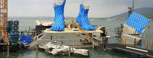 Big Blue Spotty Austrian Feet