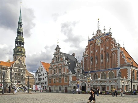 Latvian architecture