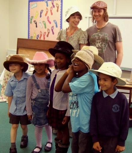 Vanessa Woolf, Nigel and Kids