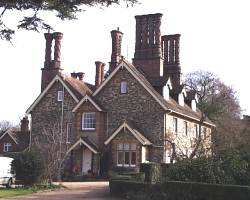 huge chimneys