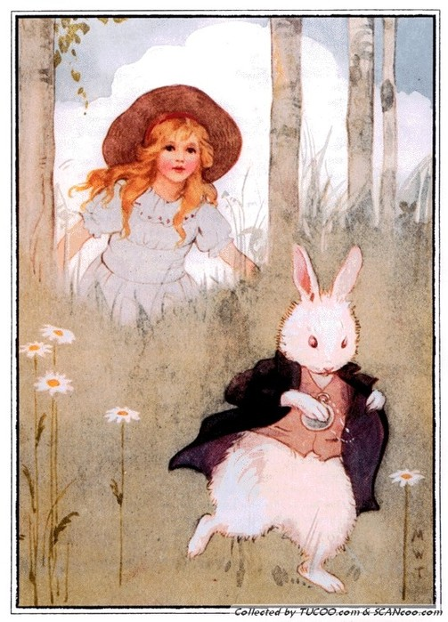 Margaret Tarrant's White Rabbit