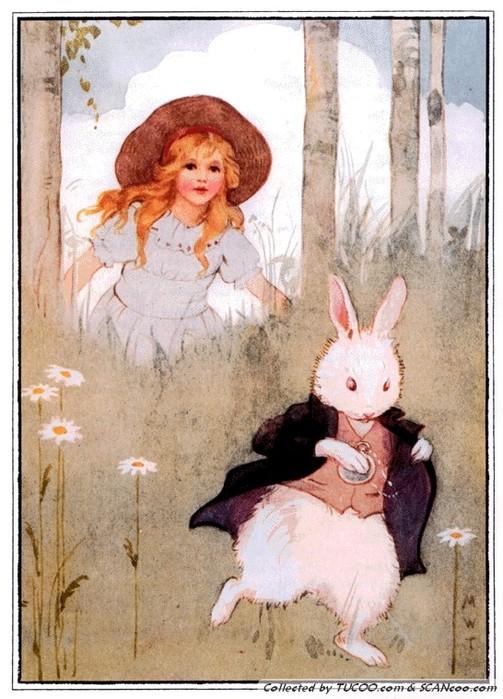 Margaret Tarrant's White Rabbit