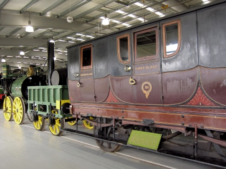 In the national Railway Museum