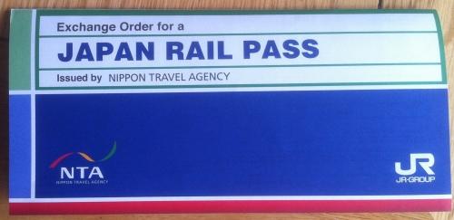 Jpan Rail pass